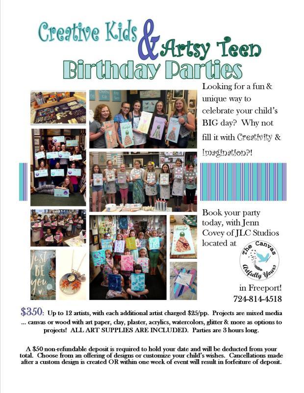 jlc Birthday Party Ad